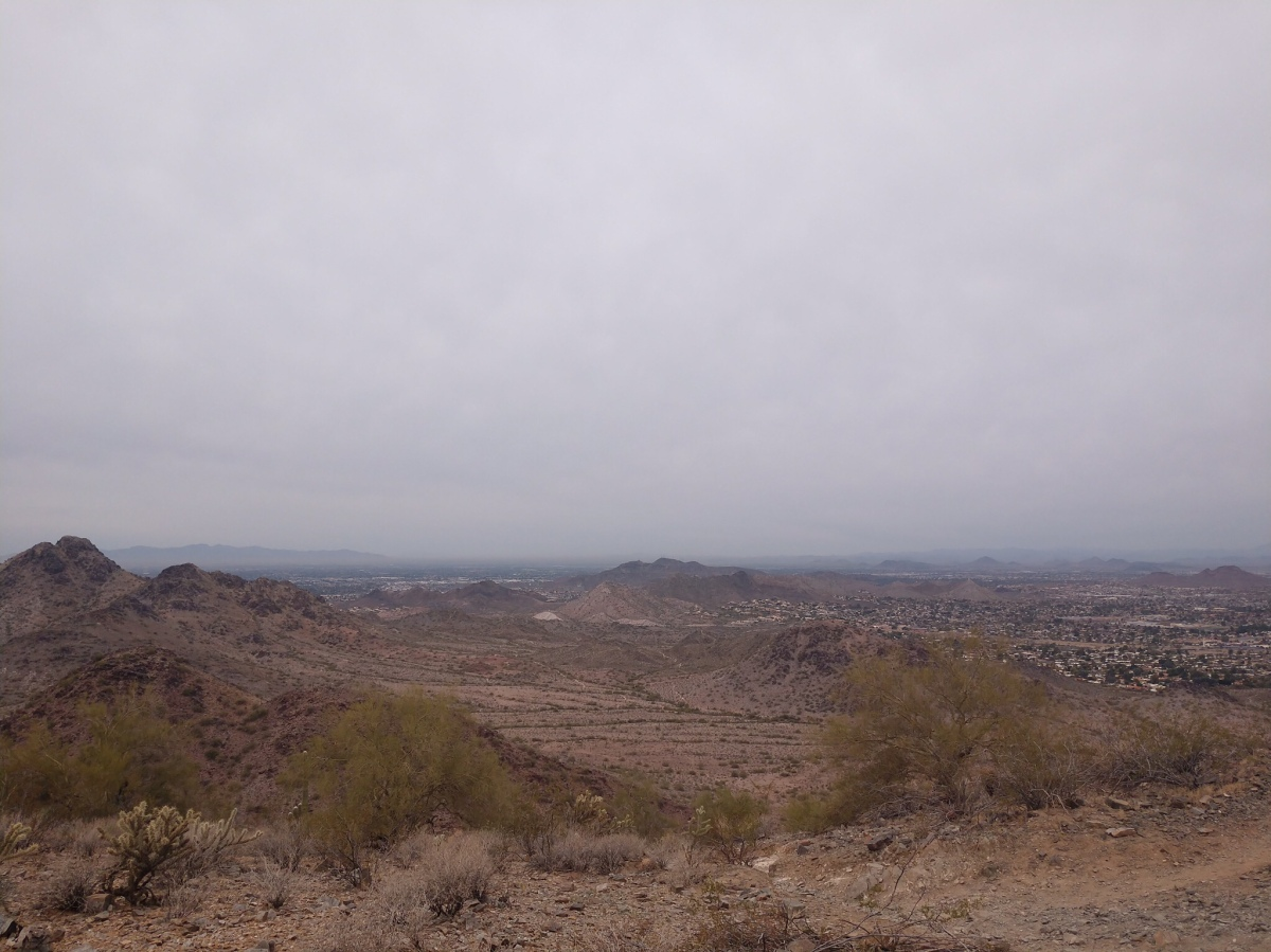 Phoenix Mountain Preserve - 40th street Trailhead