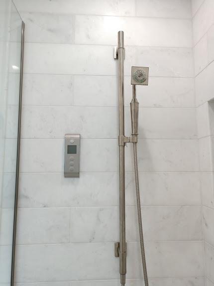 Kohler showerhead and controller