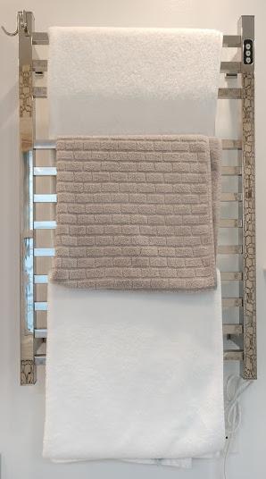 Brandon Basics towel warmer rack