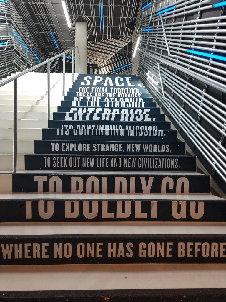 Star Trek stairway